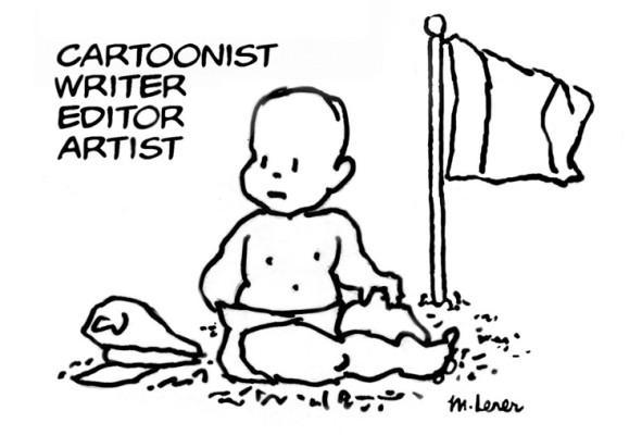 Mark Lerer's Little General Cartoon
