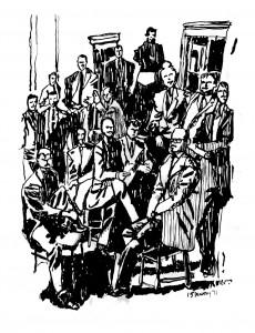 The Irascibles illustrated by Mark Lerer