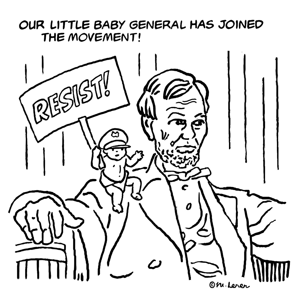 Resist - Little General by Mark Lerer