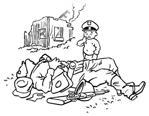 Little General Loss of Innocence Cartoon by Mark Lerer