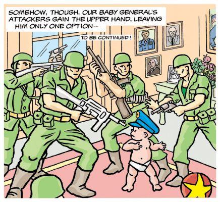 Little General by Mark Lerer - Upperhand